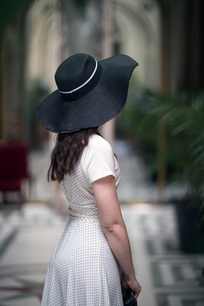 Robe retro Karina blanche3